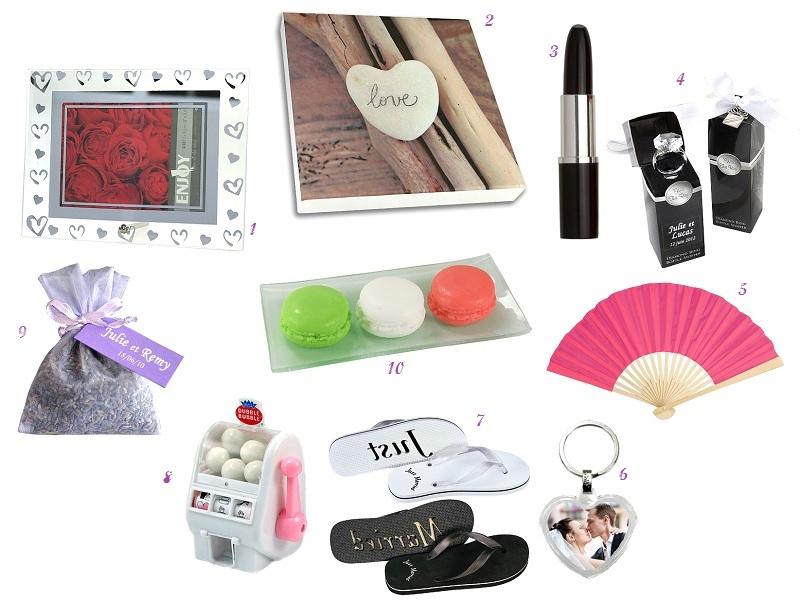 10 cadeaux originaux à offrir aux invités