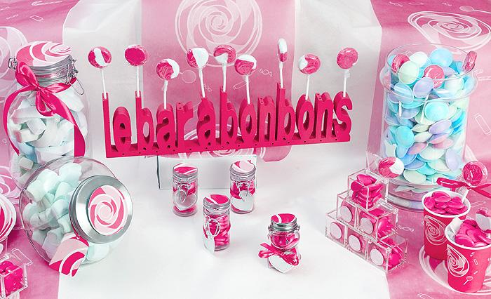 D coration candy bar decoration mariage for Centre de table gourmandise