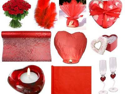 {Shopping} Ma décoration de mariage rouge