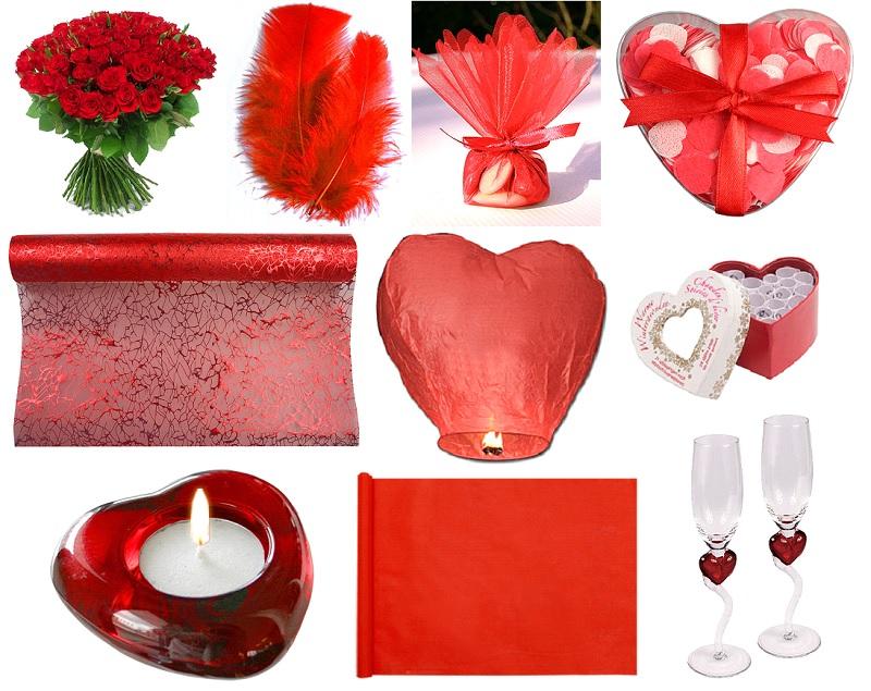 décoration mariage rouge