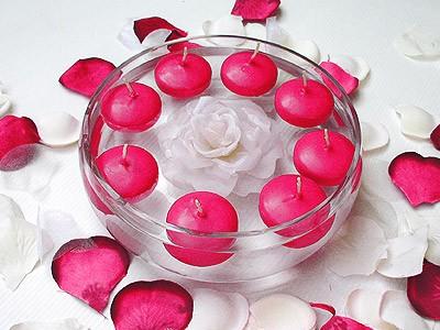 Bougies de mariage : décorer tout en subtilité
