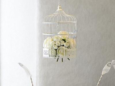 Mariage Champêtre : misez sur les cages à oiseaux