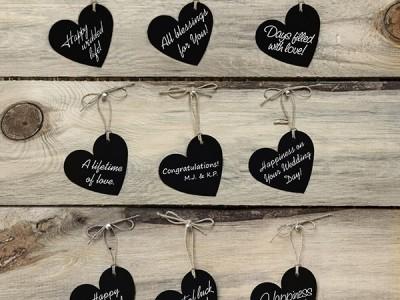 Des marque-places originaux pour votre mariage