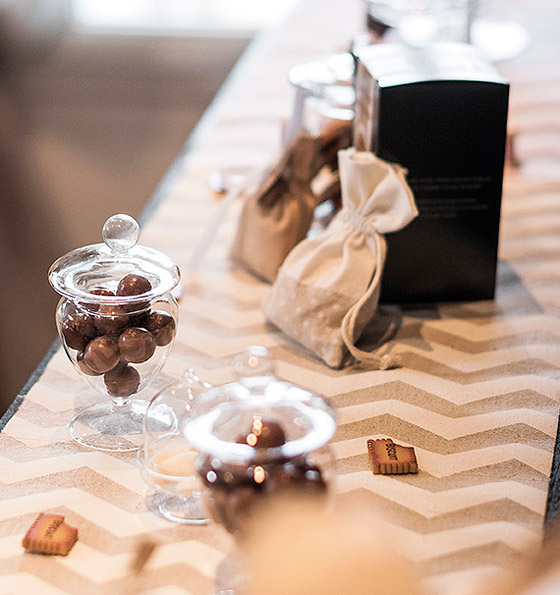 Blog mariage d coration mariage - Chemin de table chevron ...